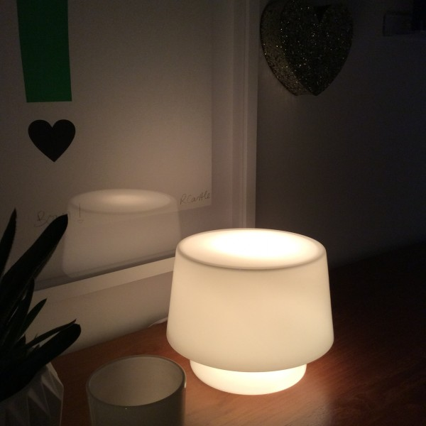 Muuto Cosy in White Lamp by Helen